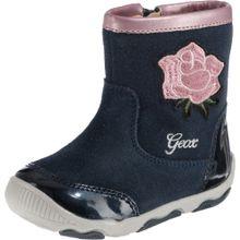 GEOX Baby Stiefel 'NEW BALU' blau / grün / rosa