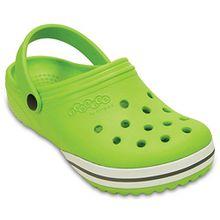 crocs Jungen Clogs & Pantoletten, Grün - Grün - Größe: 25 EU Kinder