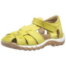 Bisgaard Sandals, Unisex-Kinder Geschlossene Sandalen, Gelb (80 Yellow), 24 EU