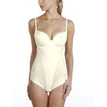 Rosa Faia Damen Body, 3486 Schalen-Body Romina, Gr. 70 E, Elfenbein (champagner 047)