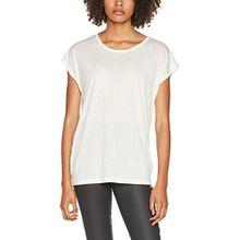 Tigha Damen T-Shirt Effi, Weiß (Off White Mélange 107), X-Small (Herstellergröße: XS)