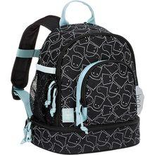Lässig Kindergarten-Rucksack 4Kids, Mini Backpack, Spooky black schwarz