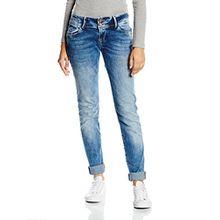 Cross Jeans Damen Skinny Jeanshose Melissa, Gr. W25/L30 (Herstellergröße: 25), Blau (Dark mid Blue 108)