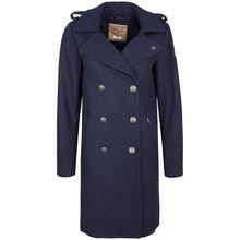 DreiMaster Mantel blau Damen