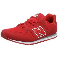 New Balance Unisex-Kinder Kj373y Sneaker, Rot (Red), 40 EU