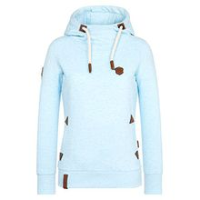 Naketano Female Hoody Chasin the cat Bubble Butt Melange, L