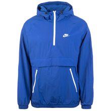 Nike Sportswear Woven Anorak Kapuzenjacke Herren blau/weiß Herren