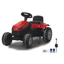 XXXL KINDERTRAKTOR Ride-on Traktor Strong Bull, Rot
