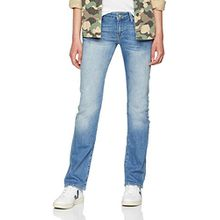 Mavi Olivia Damen Straight Jeans,Blau (Shaded Str 23298),W27/L30