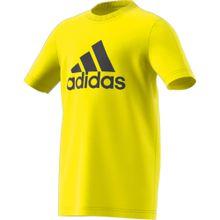 ADIDAS PERFORMANCE T-Shirt gelb / schwarz