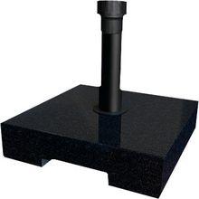 Best Freizeitmöbel Schirmständer betongefüllt schwarz