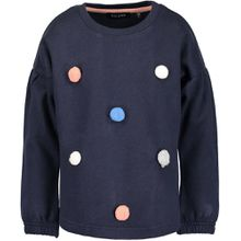 Blue Seven Sweatshirt mit Bommel