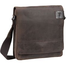 Strellson Umhängetasche Richmond Messenger MV Dark Brown