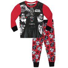 Star Wars Jungen Schlafanzug - Slim Fit - 104