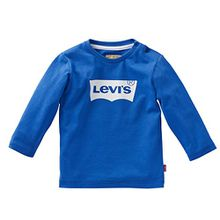 Levi's Baby - Jungen N91003H T-Shirt, Blau (Encre), 9-12 Monate (Herstellergröße: 12 Mois (Taille fabricant12 Mois)