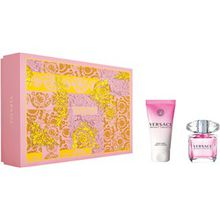 Versace Damendüfte Bright Crystal Geschenkset Eau de Toilette Spray 30 ml + Perfumed Body Lotion 50 ml 1 Stk.