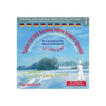 600 Deutsch-Vokabeln Türkischsprechende spielerisch erlernt, 1 Audio-CD Hörbuch  Kinder