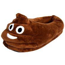 HENGSONG Unisex Herren und Damen Emoji Hausschuhe Winter Hausschuhe Cartoon Hause Pantoffeln