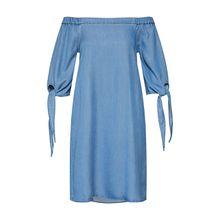 VERO MODA Kleid MIA Jerseykleider blue denim Damen