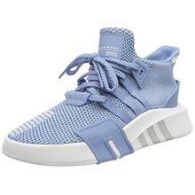 adidas Damen EQT Bask ADV Hohe Sneaker, Blau (Ash Blue/Footwear White), 42 EU