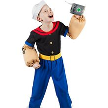 Kostüm Popeye, 6-tlg.