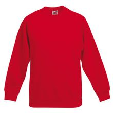 Kinder Sweatshirt - rot - Gr. 116