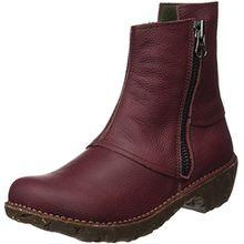 El Naturalista Damen Ne28 Soft Grain Yggdrasil Kurzschaft Stiefel, Rot (Rioja), 42 EU