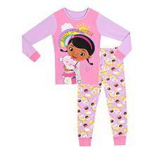 Disney Doc McStuffins Mädchen Doc McStuffins Schlafanzug Slim Fit 92cm