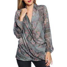 Sienna Blusenshirt in mehrfarbig für Damen