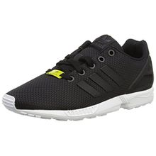 adidas ZX Flux, Unisex-Kinder Sneakers, Schwarz (Black/Black/FTWR White), 28 EU (10 Kinder UK)