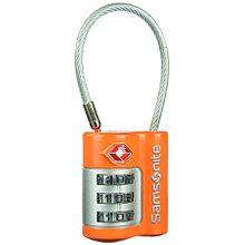 Samsonite Reisezubehör US Air Travel 3 Dial Cable Lock Orange