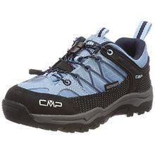 CMP Unisex-Kinder Rigel Trekking-& Wanderhalbschuhe, Türkis (Glass-B.Blue), 37 EU