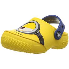 crocs Fun Lab Minions Clog, Unisex - Kinder Clogs, Gelb (Yellow), 32/33 EU
