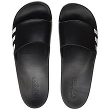 adidas Damen Aqualette Slipper Aqua Schuhe, Schwarz (Cblack/Ftwwht/Cblack Ba8762), 39 EU