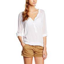 Sublevel Damen Bluse D7187U10453A4, Gr. 38 (Herstellergröße: M), Weiß (White 22000)
