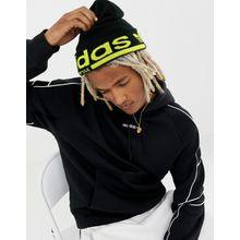 adidas Originals - Kaval - Schwarze Mütze, DM1689 - Schwarz