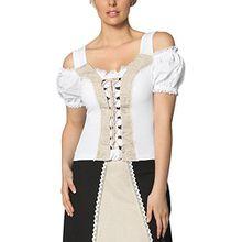 Stockerpoint Damen T-Shirt Shirt May2, Weiß (Weiss), 44