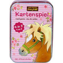 Mein kleiner Ponyhof: Kartenspiel 4 in 1