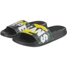 Pepe Jeans Badelatschen 'Slider' gelb / grün / weiß