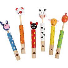 Flöten Tiere, 6 Stück