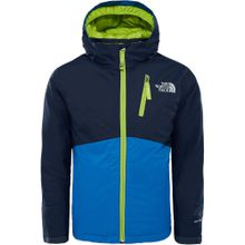 THE NORTH FACE Kinder Skijacke SNOWQUEST PLUS blau