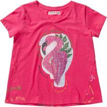Desigual T-Shirt 'Tropical' mischfarben / pink
