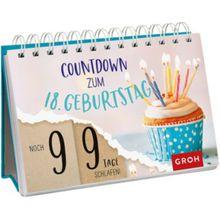 Buch - Countdown zum 18. Geburtstag, Spiralaufsteller