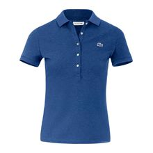 Polo-Shirt 1/4-Arm Lacoste blau