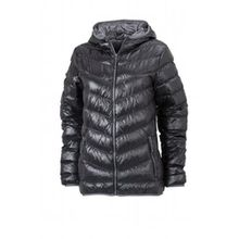 James & Nicholson Damen Jacke Jacke Ladies' Jacket schwarz (black/grey) Large