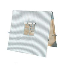 ferm Living - Spielzelt, Thin Striped blau