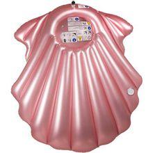 """XL Luftmatratze """"Muschel"""" 163x151 cm rosa"""