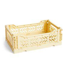 Hay - Colour Crate Korb S, 26,5 x 17 cm, hellgelb