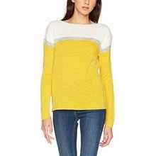Blend She Damen Pullover Sun R pu2, Gelb (Ceylon Yellow 20504), 42 (Herstellergröße: L)