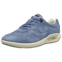 Ecco Damen CS16 Ladies Sneaker, Blau (55335RETRO Blue/Retro Blue), 42 EU